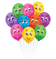 balloons theme image 5 vector image