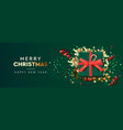 holiday background merry christmas and happy new vector image vector image