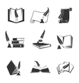 icons science study knowledge vector image