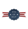 Independence Day 4th of July festive Banner vector image vector image
