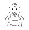 male baby icon image vector image