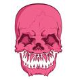 aggressive skull