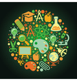 Back to school concep vector image
