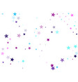 cosmic sparkles stylish design vector image