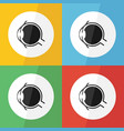 eye icon flat design vector image