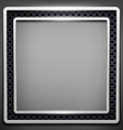 Square frame Stock vector image vector image