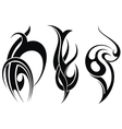 Styled decorative tattoo vector image vector image