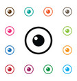 isolated eye icon look element can be used vector image