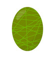 delicious easter egg vector image vector image