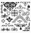 design elements set 10 vector image