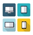 Device icon design vector image