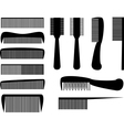 Hair Combs vector image vector image