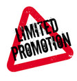 Limited promotion rubber stamp