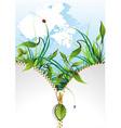 natural banner vector image
