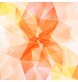 orange crystal diamond texture abstract background vector image