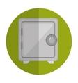 safe money box icon vector image