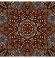 Tribal vintage ethnic indian ornamental design vector image vector image
