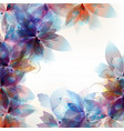 floral colorful background vector image vector image