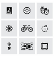 Handmade icon set vector image