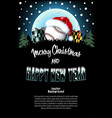 sport christmas and new year pattern vector image vector image