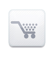 white Shopping icon Eps10 Easy to edit vector image