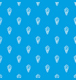 balls of ice cream in cone pattern seamless vector image vector image