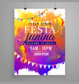 festa junina party celebration invitation flyer vector image vector image