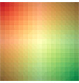 light rainbow triangle gradient background vector image vector image