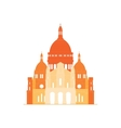 The sacred basilica Sacre Coeur in France - 5 vector image vector image