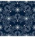 Winter Christmas seamless pattern vector image