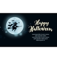 Halloween Design template greeting card or vector image