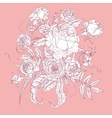 Pastel Floral vector image vector image