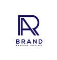 ra geometric strong logo