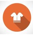 T-shirt symbol vector image vector image