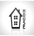 House logo template Real estate design concept vector image