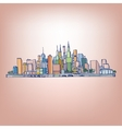 02 Cityscape vector image vector image
