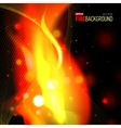 Abstract background with fire for presentation