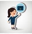 businessperson avatar design vector image vector image