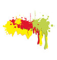 colored abstract picture backgroud icon vector image