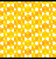 creative square pattern background vector image vector image