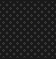 dark minimalist seamless pattern with tiny star vector image vector image