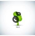 Eco green tree concept vector image vector image