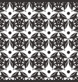 elegant abstract flower seamless pattern grey vector image vector image