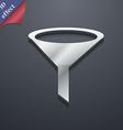funnel icon symbol 3d style trendy modern design
