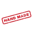 Hand Made Text Rubber Stamp vector image