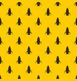 rocket pattern vector image vector image
