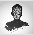anonymous icon privacy concept human head vector image vector image