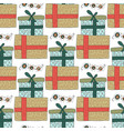 Christmas seamless pattern with detailed