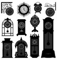 clock time antique vintage ancient classic old vector image vector image