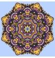 colour mandala circle decorative spiritual indian vector image